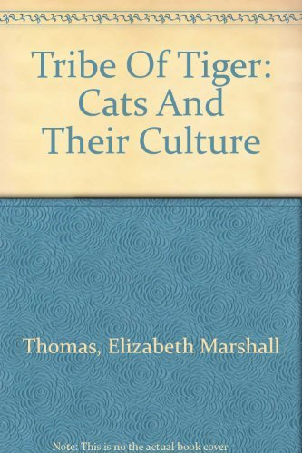 9780788158155: Tribe Of Tiger: Cats And Their Culture