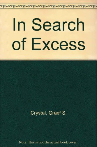 9780788161506: In Search of Excess