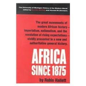9780788164590: Africa Since 1875: A Modern History