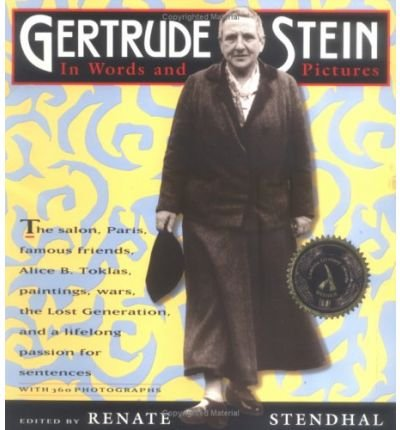 9780788165535: Gertrude Stein in Words and Pictures: A Photobiography