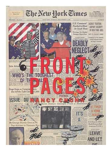 9780788166143: Front Pages/Nancy Chunn: Interview With the Artist by Gary Indiana