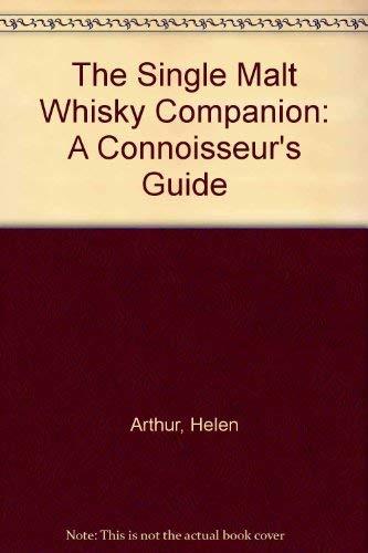 9780788166655: The Single Malt Whisky Companion: A Connoisseur's Guide