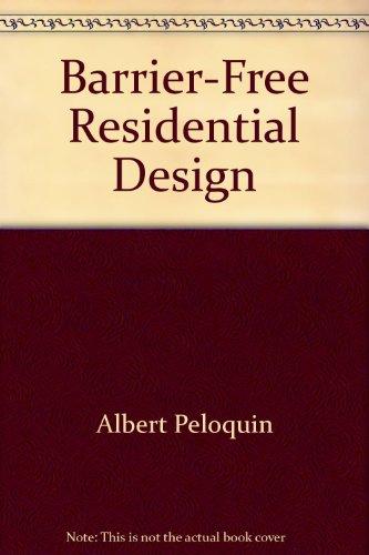 9780788167683: Barrier-Free Residential Design