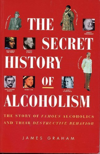 9780788168628: The Secret History of Alcoholism: The Story of Famous Alcoholics & Their Destructive Behavior