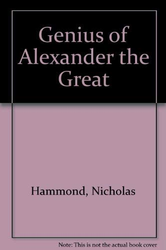 9780788168888: Genius of Alexander the Great