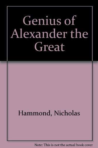 9780788168888: Genius of Alexander the Great