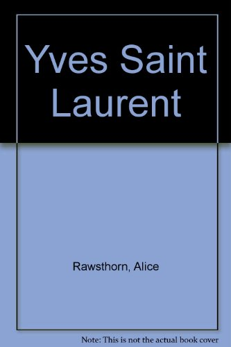 9780788169229: Yves Saint Laurent