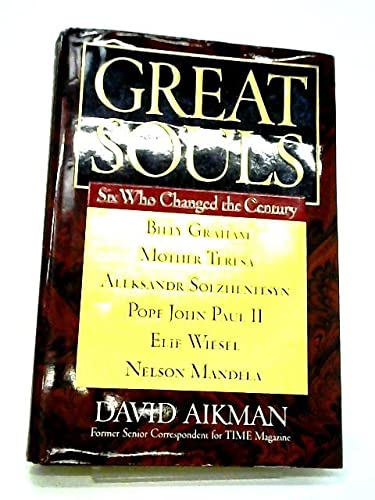 9780788169755: Great Souls: Six Who Changed the Century