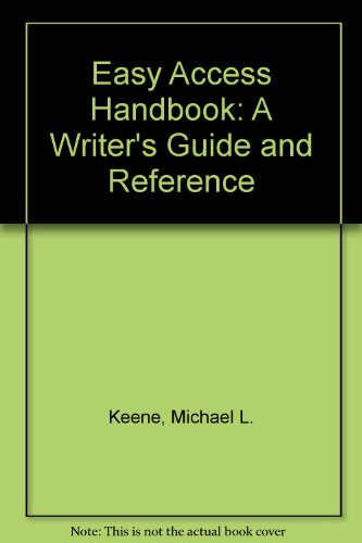 9780788190162: Easy Access Handbook: A Writer's Guide and Reference