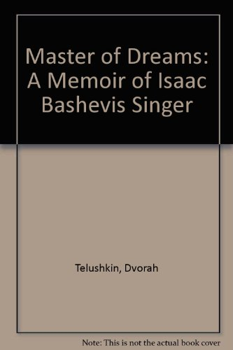 9780788190841: Master of Dreams: A Memoir of Isaac Bashevis Singer