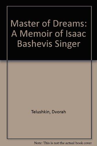 9780788190841: Master of Dreams: A Memoir of Isaac Bashevis Singer