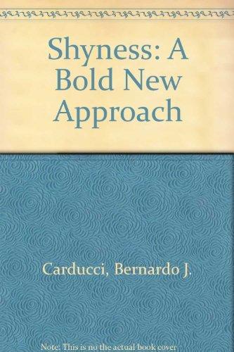 9780788191404: Shyness: A Bold New Approach