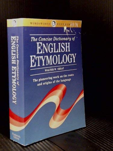 9780788191619: The Concise Dictionary of English Etymology