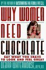9780788192500: Why Women Need Chocolate: Eat What You Crave to Look Good & Feel Great