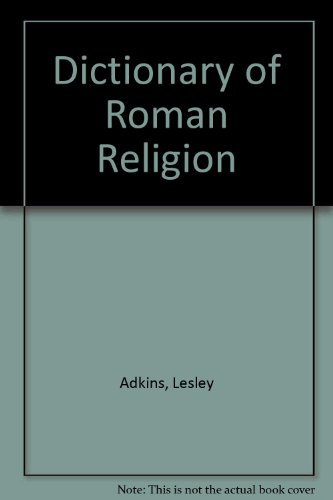 9780788194566: Dictionary of Roman Religion