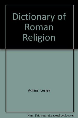 9780788194566: Dictionary of Roman Religion