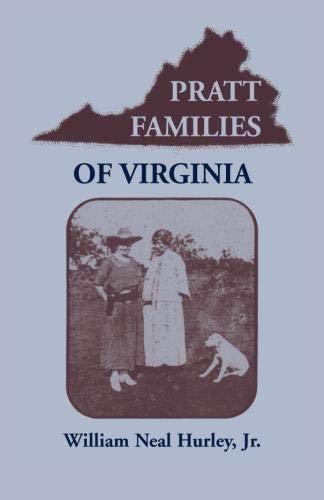 9780788405129: Pratt Families of Virginia