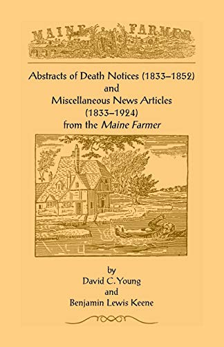ABSTRACTS OF DEATH NOTICES (1833-1852) AND MISCELLANEOUS: Young, David C.
