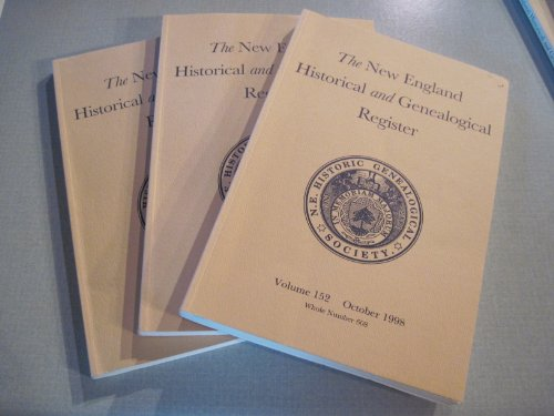 THE NEW ENGLAND HISTORICAL AND GENEALOGICAL REGISTER, Volume 50, 1896: New England Historic ...