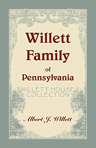 9780788409035: Willett family of Pennsylvania