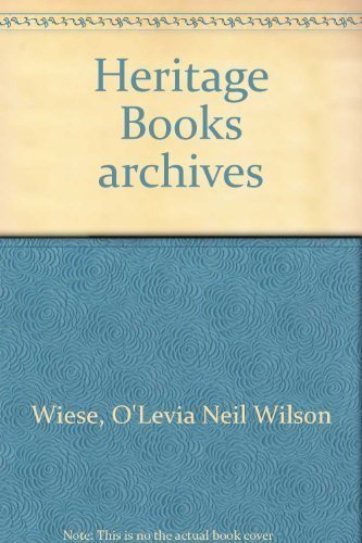 THE WOODVILLE REPUBLICAN, Volumes 1-5: Wiese, O'Levia Neil Wilson