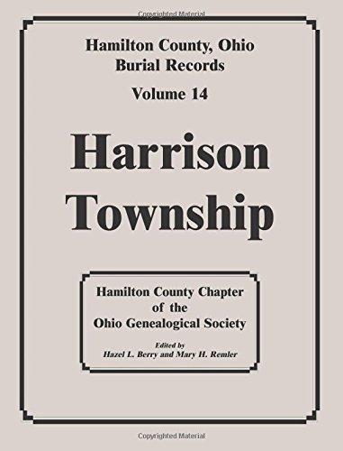 9780788417535: Hamilton County, Ohio, Burial Records, Vol. 14: Harrison Township