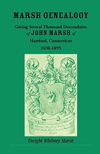 Marsh Genealogy: Dwight Whitney Marsh