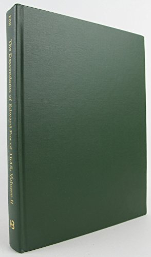 The Descendants of Edward Fox of 1645: Arthur G., Jr. Fox