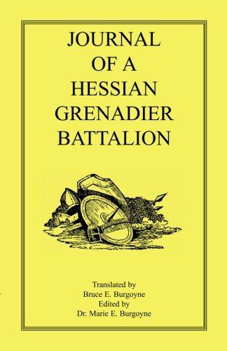 9780788431579: JOURNAL OF AHESSIAN GRENADIER BATTALION