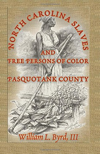 North Carolina Slaves and Free Persons of Color: Pasquotank County: Byrd III, William L. and John H...