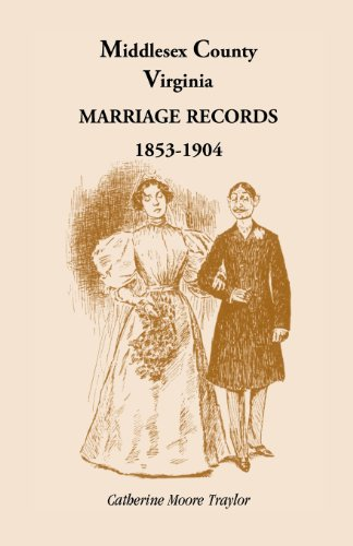 Middlesex County Marriage Records 1853-1904: Catherine Moore Traylor