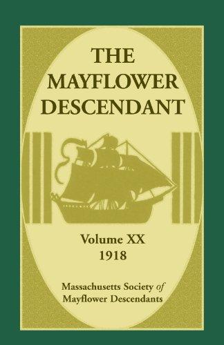 9780788448751: The Mayflower Descendant, Volume 20, 1918