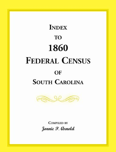 Index to 1860 Federal Census of South Carolina: Jonnie P. Arnold