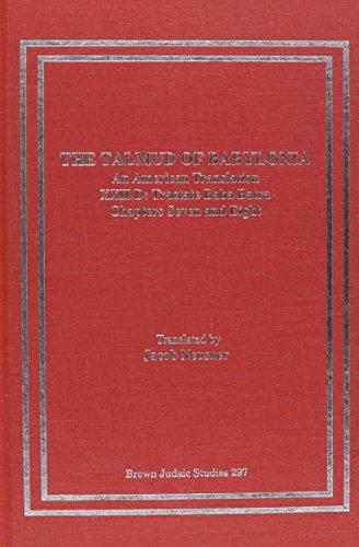 9780788500213: The Talmud of Babylonia: An American Translation : Xxii.d : Baba Batra