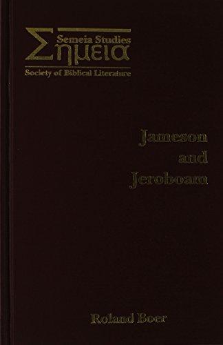 Jameson and Jeroboam: Boer, Roland