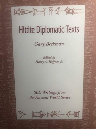 9780788501548: Hittite Diplomatic Texts (Writings from the Ancient World)