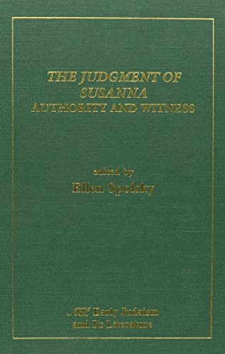9780788501814: The Judgment of Susanna: Authority and Witness