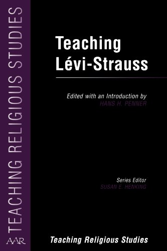 9780788504907: Teaching Lévi-Strauss (AAR Teaching Religious Studies)