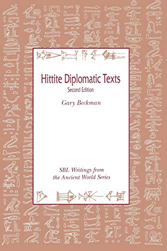9780788505515: Hittite Diplomatic Texts, Second edition