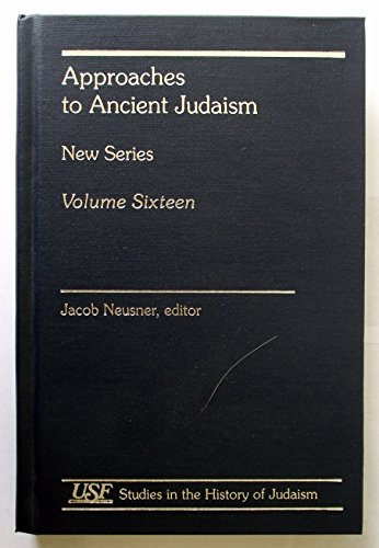 Approaches to Ancient Judaism: New Series (Hardback): Jacob Neusner