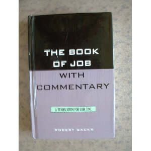 9780788505997: Book of Job with Commentary: A Translation of Our Time (Academic Commentary)