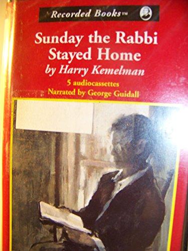 9780788718885: Sunday the Rabbi Stayed Home (Rabbi David Small Series No. 3)