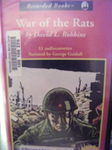 War of the Rats (0788737430) by Robbins, David L.; Guidall, George