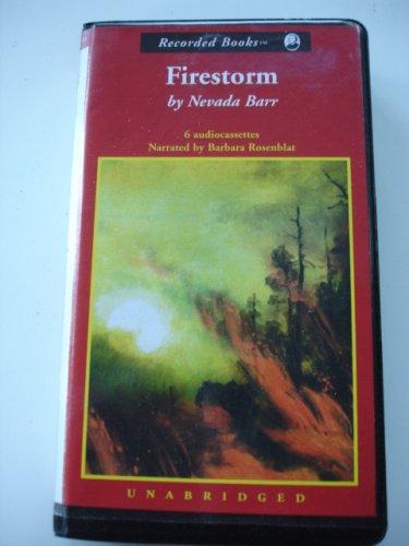9780788737756: Firestorm: An Anna Pigeon Mystery