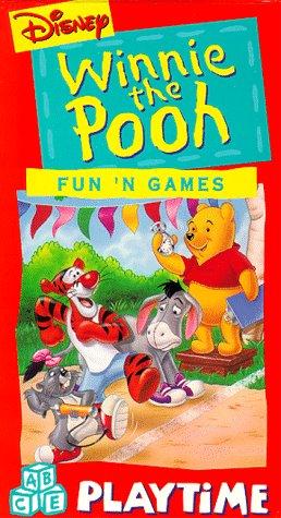 9780788800917: Winnie the Pooh: Fun N Games [VHS]