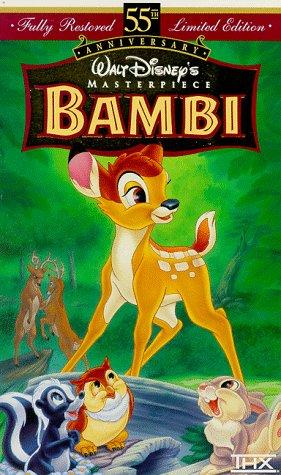 9780788806278: Bambi (Walt Disney's Masterpiece) [VHS]
