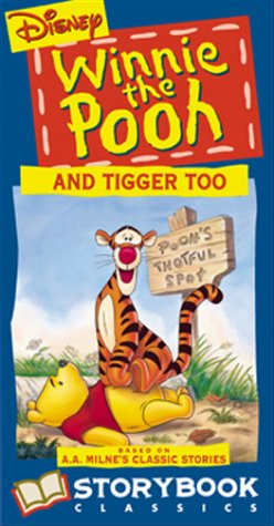 9780788807305: Winnie the Pooh and Tigger Too [VHS]