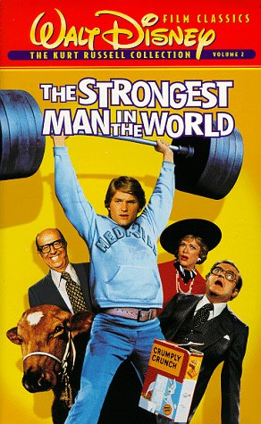 9780788810985: The Strongest Man in the World [VHS]