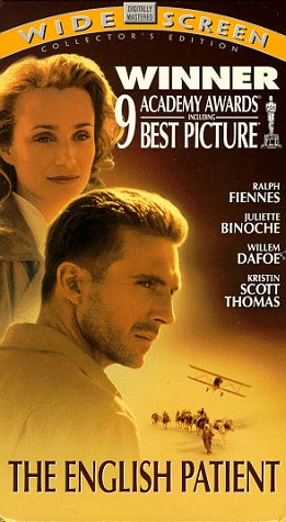 9780788811364: The English Patient (Widescreen Edition) [VHS]