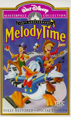 9780788812446: Melody Time (Fully Restored 50th Anniversary Special Edition) (Walt Disney Masterpiece Collection) [VHS]